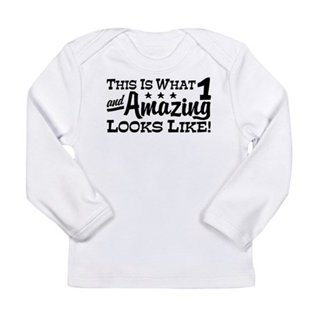 Cute 1 Year Old Long Sleeve Infant T-Shirt