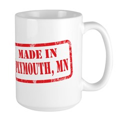 MADE IN PLYMOUTH, MN Mug