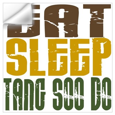 Eat Sleep Tang Soo Do Wall Decal