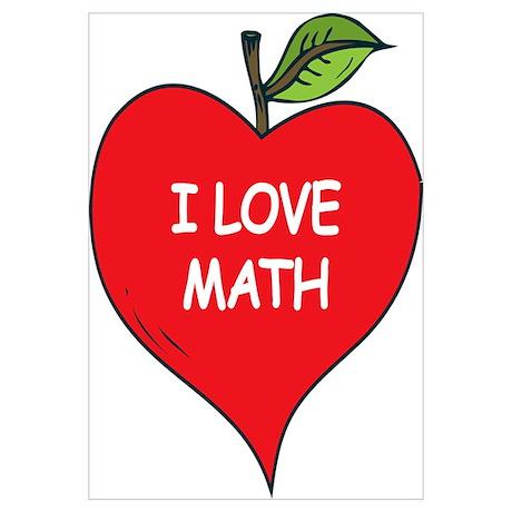 heart apple i love math poster 50th wedding anniversary clipart free golden wedding anniversary clipart