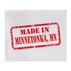 MADE IN MINNETONKA, MN Throw Blanket