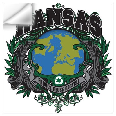 Kansas Green Pride Wall Decal