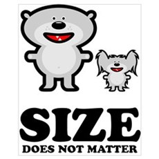 Size Does Not Matter Canvas Art