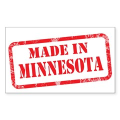 MADE IN MINNESOTA Decal