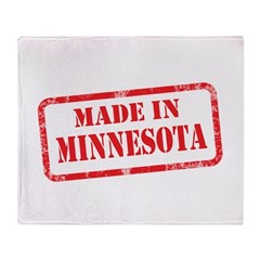 MADE IN MINNESOTA Throw Blanket
