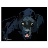 Panther Wrapped Canvas Art