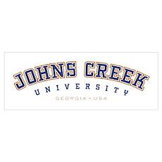 Johns Creek, GA Poster
