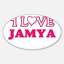 I Love Jamya Decal