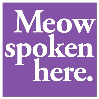 Cat Speak Poster