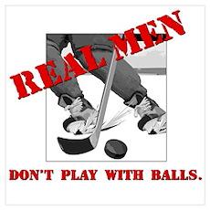 Real Men Poster