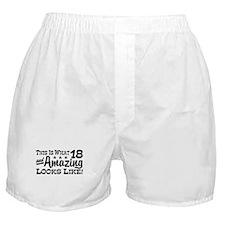 Funny 18th Birthday Boxer Shorts