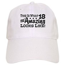 Funny 18th Birthday Baseball Cap
