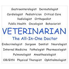 Veterinarian TheAllInOneDoctor Poster