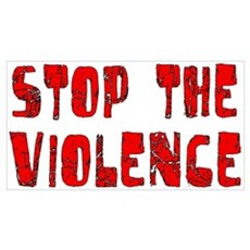 Stop The Violence Canvas Art