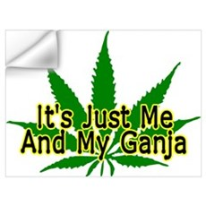 Me And My Ganja Wall Decal