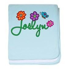 Joslyn Flowers baby blanket