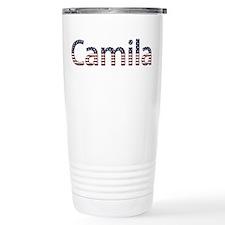 Camila Stars and Stripes Travel Mug