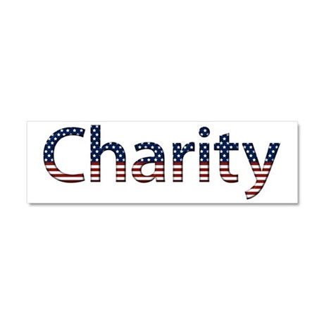 Charity Stars and Stripes 10x3 Car Magnet