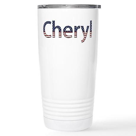 Cheryl Stars and Stripes Stainless Steel Travel Mu