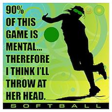 2011 Softball 72 Poster