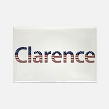 Clarence Stars and Stripes Rectangle Magnet