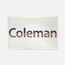 Coleman Stars and Stripes Rectangle Magnet