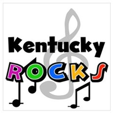 Kentucky Rocks Poster