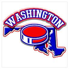 Washington Hockey Poster