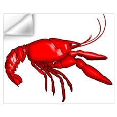 Louisiana Crawfish Wall Decal