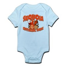 Sequoia Natl Park Squirrel Infant Bodysuit