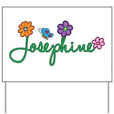 Josephine Flowers Yard Sign
