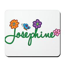 Josephine Flowers Mousepad