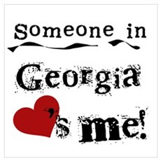 Someone in Georgia Poster