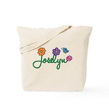 Joselyn Flowers Tote Bag