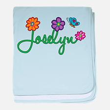 Joselyn Flowers baby blanket