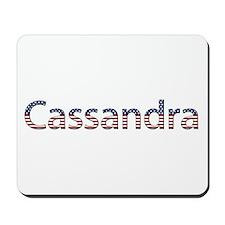 Cassandra Stars and Stripes Mousepad