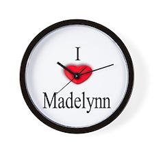 Madelynn Wall Clock