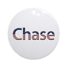 Chase Stars and Stripes Round Ornament
