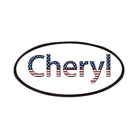 Cheryl Stars and Stripes Patch