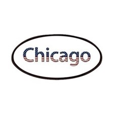 Chicago Stars and Stripes Patch
