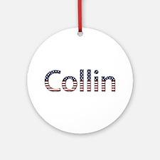 Collin Stars and Stripes Round Ornament