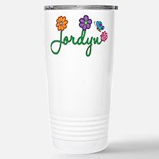 Jordyn Flowers Travel Mug