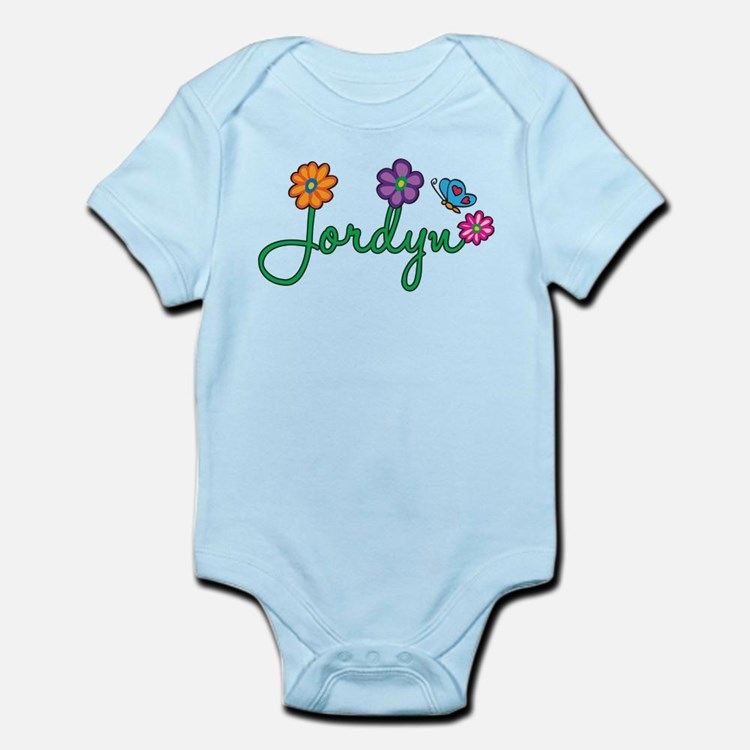 Jordyn Flowers Infant Bodysuit