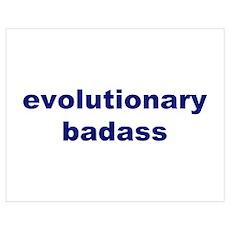 Evolutionary Badass Poster