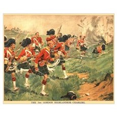 Gordon Highlanders Poster