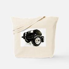 BLACK BEAUTY - MONSTER TRUCK Tote Bag