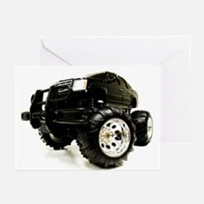 BLACK BEAUTY - MONSTER TRUCK Greeting Cards (Packa