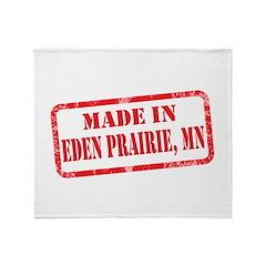 MADE IN EDEN PRAIRIE, MN Throw Blanket