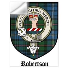 Robertson Clan Crest Tartan Wall Decal
