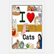 I Love Cats in ASL
